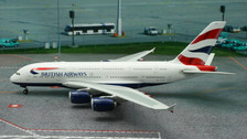 PH11172 | Phoenix 1:400 | Airbus A380 British Airways G-XLEI
