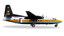 557177 | Herpa Wings 1:200 | Fokker C-31A Troopship (F27) US Army Parachute Team 85-1607, 'The Golden Knights' (die-cast)