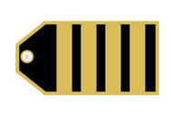 TAG414 | Bag Tags | Luggage Tag - Captain (4 stripes)