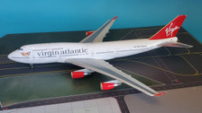 WB744OT | Blue Box 1:200 | Boeing 747-400 Virgin Atlantic G-VHOT