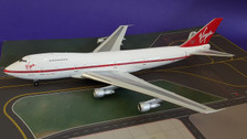 WB742RG | Blue Box 1:200 | Boeing 747-200 Virgin Atlantic G-VIRG