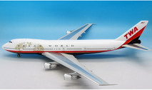 IF7411215 | InFlight200 1:200 | Boeing 747-100 TWA N17010, 'Last Scheme' (with stand)