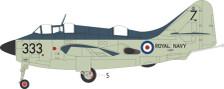 AV7252001   Aviation 72 1:72   FAIREY GANNET AS.1 XA420/333 824 NAS HMS ALBION 1957
