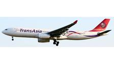 XX4304 | JC Wings 1:400 | Airbus A330-300 TransAsia B-22105