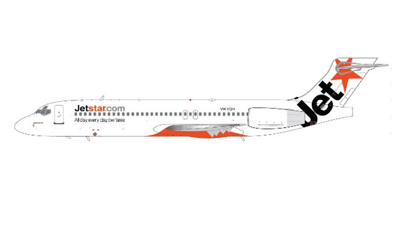 XX2343 | JC Wings 1:200 | Boeing 717 Jetstar VH-VQH, 'White