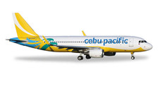 529327 | Herpa Wings 1:500 | Airbus A320 Cebu Pacific RP-C4107 (2016 colours, with sharklets)
