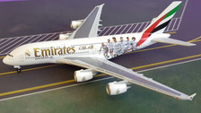 529242 | Herpa Wings 1:500 | Airbus A380 Emirates A6-EOA, 'Real Madrid'