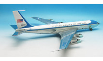 AF1VC-137P | 1:200 | VC-137 US Air Force One 26000 (polished, with stand)