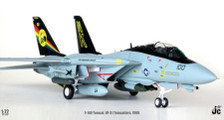 JCCW72F14001 | JC Wings Fighters 1:72 | F-14D Tomcat US Navy VF-31 'Tomcatters', CVW14, USS ABRAHAM LINCOLN (CVN-72), 1988