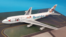 VL2016002 | Jet-x 1:200 | Boeing 747-400 JAL Reso'cha JA8183 (with stand)