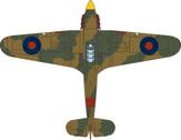 OXAC069 | Oxford Die-cast 1:72 | Hawker Hurricane Mk.I RAF, 11 Group, 6 OTU, Sutton Bridge 1940