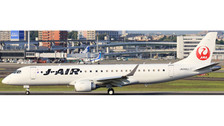 XX4708 | JC Wings 1:400 | Embraer E-190 JAL J-Air JA242J