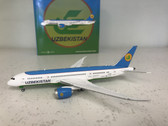 XX4711 | JC Wings 1:400 | Boeing 787-8 Uzbekistan UK78701