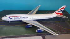 IF747BA001 | InFlight200 1:200 | Boeing 747-400 British Airways G-CIVA, 'victoRIOus' (with gold stand)