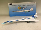AF1CONC001P | InFlight200 1:200 | Concorde USAF Air Force One 65000 (with stand and collectors coin)