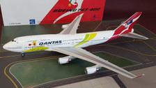 IF744QFA2016 | InFlight200 1:200 | Boeing 747-400 Qantas VH-OEJ, 'Olympics 2016' (with stand)