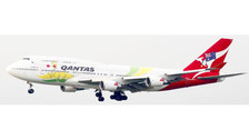 XX2416 | JC Wings 1:200 | Boeing 747-400 Qantas VH-OEJ, 'Olympics 2016' (with stand)