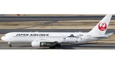 XX4719 | JC Wings 1:400 | Boeing 767-300ER Japan Airlines JA659J, 'Suica'