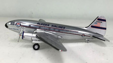 WMN1244N | Western Models 1:200 | Curtiss C-46 Commando Alaska Airlines N1244N