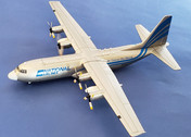 IF1300117   InFlight200 1:200   L-100-30 Hercules National Airlines S9-BAT (with stand)