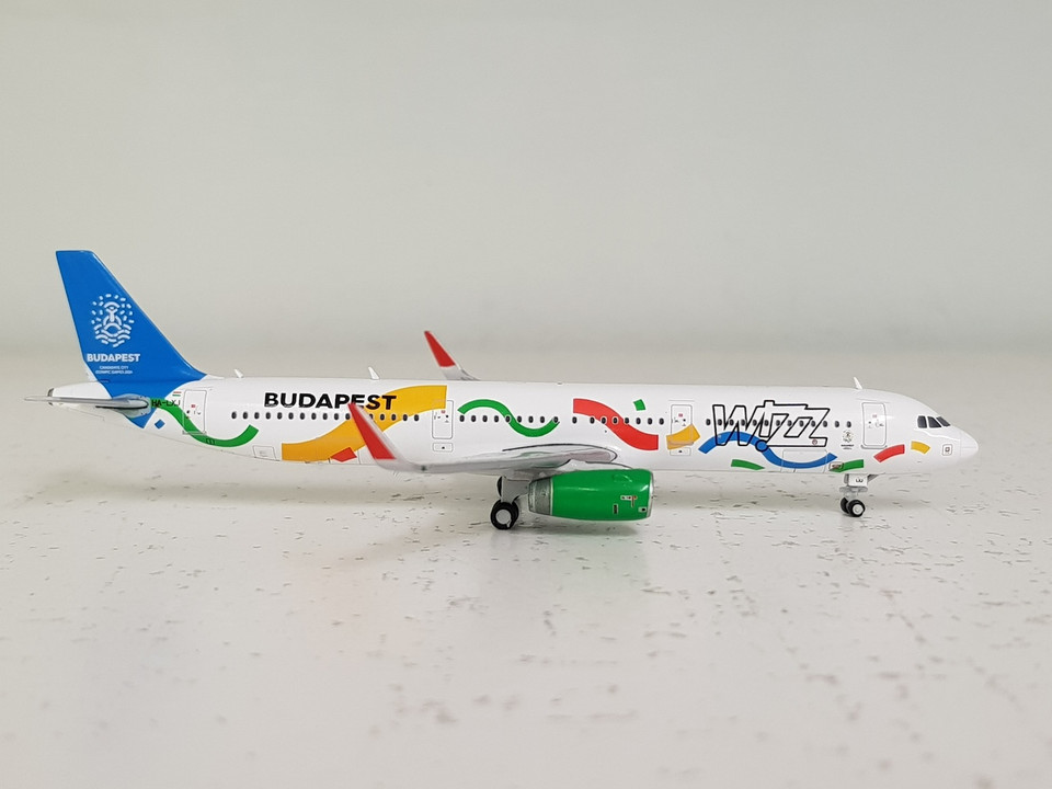Lh4041 Jc Wings 1 400 Airbus A321 Wizz Air Ha Lxj Budapest 2024 Aviation Retail Direct