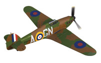 AA27605 | Corgi 1:72 | Hawker Hurricane MK1, P3576 J. B. Nicholson VC, 249 Squadron, August 1940 | is due: May 2017