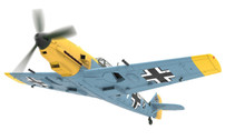 AA28003 | Corgi 1:72 | Messerschmitt Bf 109E-4 Fahnrich Hans-Joachim Marseille, 'White 14', 1940 | is due: June 2017