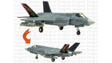 HG60272 | Hogan Die-cast 1:200 | F-35B Lightning II US Marines BF-01 (closed canopy)