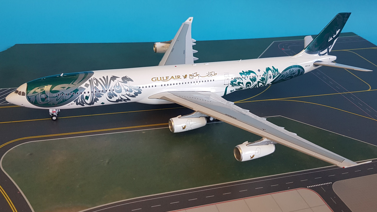 dbdfffafdead62 IF3431016 | InFlight200 1:200 | Airbus A340-300 Gulf Air A40-LD ...