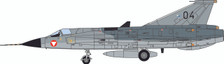AV7241006 | Aviation 72 1:72 | Saab J35 Draken Austrian AF 04 | is due: TBC