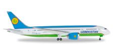 530040 | Herpa Wings 1:500 | Boeing 787-8 Uzbekistan UK78701 | is due: March / April 2017