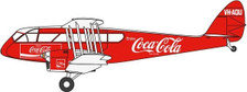 OX72DG002CC | Oxford Die-cast 1:72 | DH 84 Dragon Rapide VH-AQU 'Coca Cola'