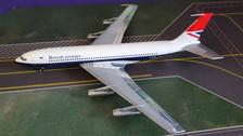 558464 | Herpa Wings 1:200 1:200 | Boeing 707-400 British Airways G-ARRA (die-cast)
