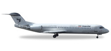 530224 | Herpa Wings 1:500 | Fokker 100 Iran Air EP-CFO | is due: May / June 2017