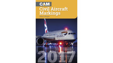 CAM17 | Books | CAM - Civil Aircraft Markings 2017 - Allan S Wright | is due: April 2017
