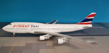LH2041 | JC Wings 1:200 | Boeing 747-300 Orient Thai HS-UTW (with stand)