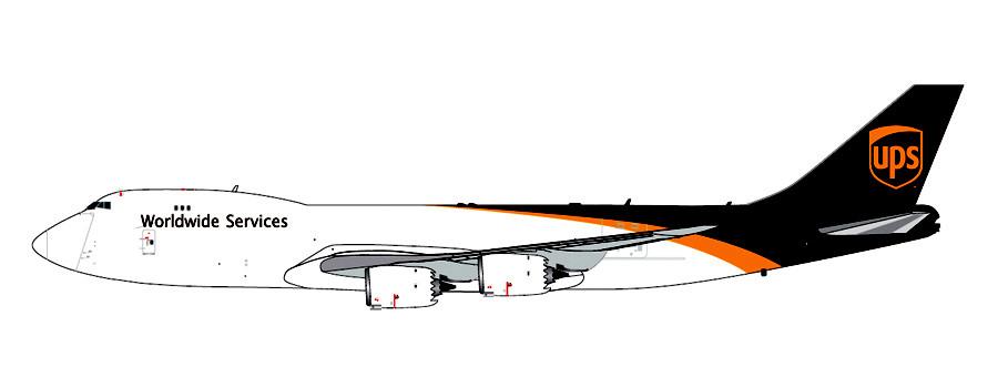 Gemini Jets UPS Boeing 747-8F GJUPS1627 1//400 New