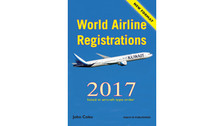 WAR17V2P | Books | World Airline Registrations 2017 - John Coles (aircraft type order, pages only)