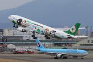 EAG100051 | Eagle 1:200 | Airbus A330-300 EVA Air B-16331, 'Bad Badtz-Maru' | is due: April 2017