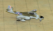 SF281 | SkyFame Models 1:200 | Gloster Meteor NF.11 RAF WD643:L, 151 Sqn., Leuchars, 1954