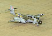 SF288 | SkyFame Models 1:200 | Gloster Meteor NF.12 RAF WS641:U, 264 Sqn., Middleton St. George