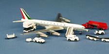 ACIDIWA | Aero Classics 1:400 | DC-8-43 Alitalia I-DIWA with GSE