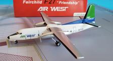 A2N2772R | Aero Classics 200 1:200 | Fokker F27 Air West N2772R