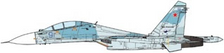 JCW72SU30003   JC Wings Fighters 1:72   SU-30M2 Flanker-C Russian AF, 2014   is due: July 2017