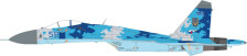 JCW72SU27003 | JC Wings Fighters 1:72 | SU-27 Flanker Ukranian Air Force | is due: July 2017