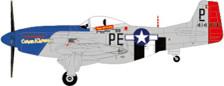JCW-72-P51-001 | JC Wings 1:72 | P-51D Mustang 328FS/352FG Mjr Preddy June 1944