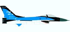 580250 | Herpa Wings 1:72 | F-16C USAF 88-0404, 93 Sqn. 'Florida Makos', 482 FW, Homestead AB, '35th Anniv.' | is due: TBC