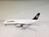 550727-004 | Herpa Wings 1:200 1:200 | Airbus A380-800 Lufthansa D-AIMJ, 'Brussel' (plastic)