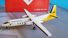 A2N378NE | Aero Classics 200 1:200 | Fairchild FH-227 Northeast N378NE, 'Delta Logo'
