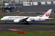 PH04134 | Phoenix 1:400 | Boeing 787-8 JAL 'Doraemon' JA837J | is due: July 2017
